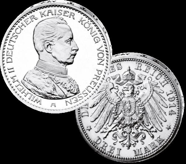 """3 Mark """"Wilhelm II"""""""