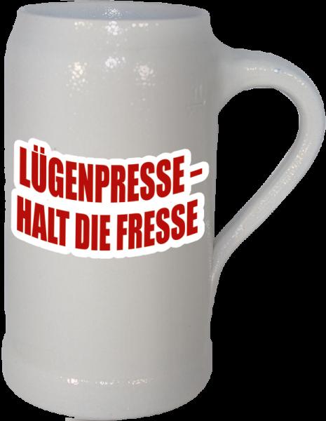 "Bierkrug ""Lügenpresse"""