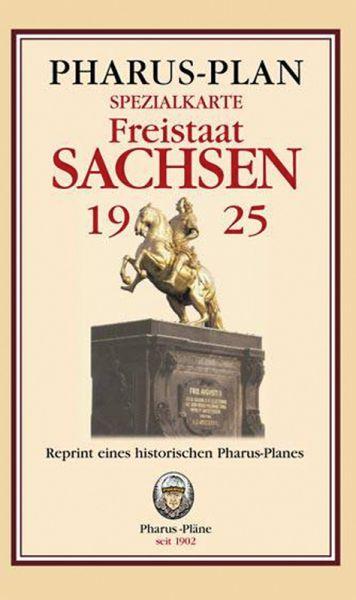Spezialkarte des Freistaates Sachsen 1925
