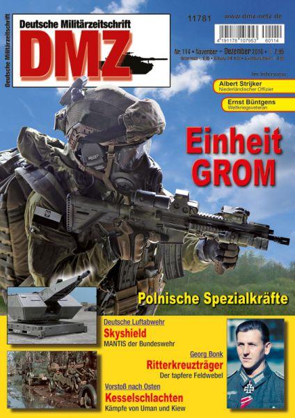 Zeitschrift DMZ 114 (November/Dezember 2016)