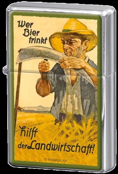 """""""Wer Bier trinkt, hilft der Landwirtschaft"""""""