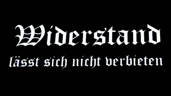 """""""Widerstand"""" schwarz"""