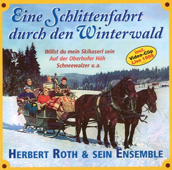 Eine Schlittenfahrt durch den Winterwald - Herbert Roth