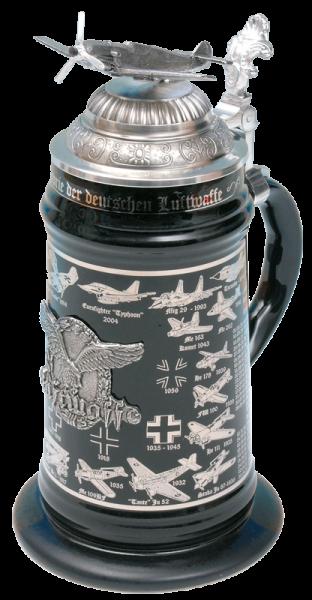 """Porzellankrug """"Die deutsche Luftwaffe"""""""