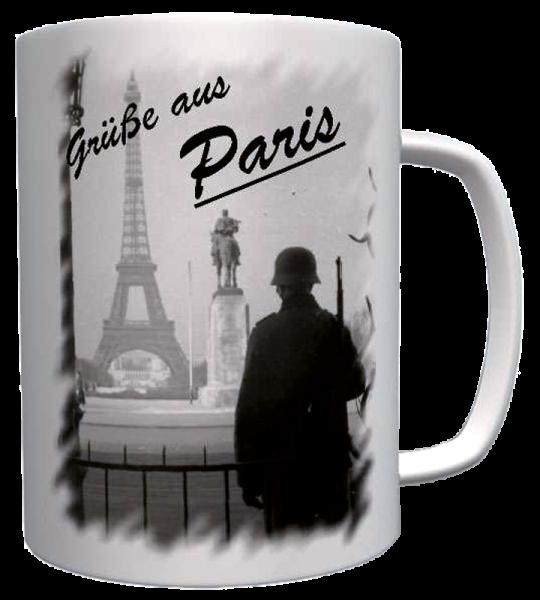 """Becher """"Grüße aus Paris"""""""