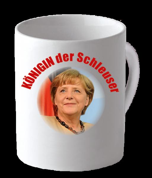 """Becher """"Königin der Schleuser"""""""