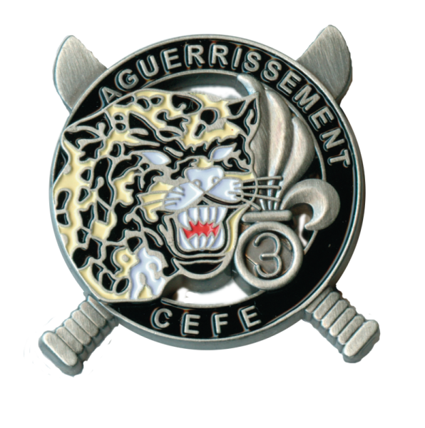 """""""Dschungel-Ausbildungskommando des 3. Fremden- Infanterieregimentes"""""""
