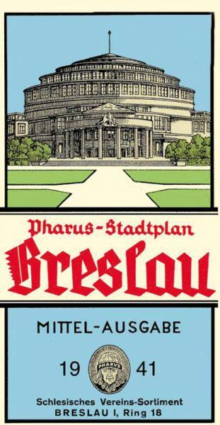 Stadtplan Breslau 1941