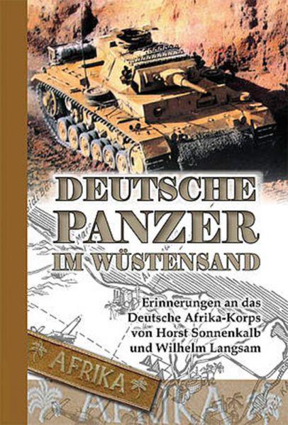 Deutsche Panzer im Wüstensand