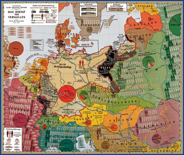Politisch-historische Karte