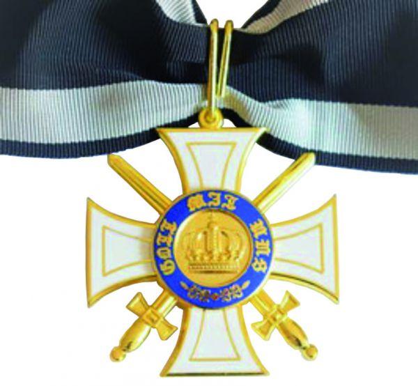 Königlicher Kronen-Orden - 2. Klasse mit Schwertern