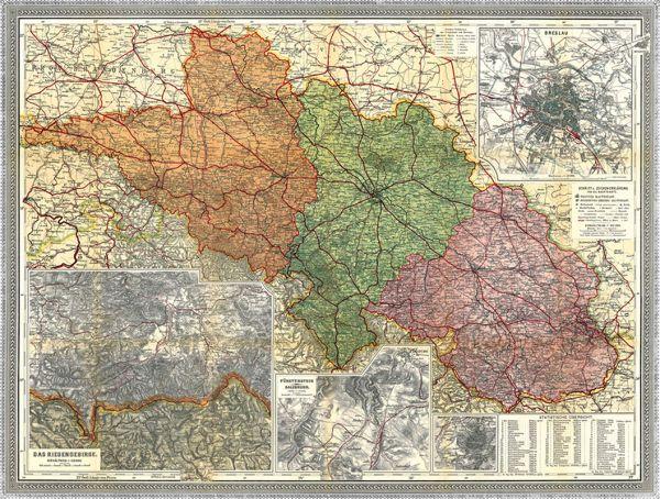 Provinz Schlesien 1910