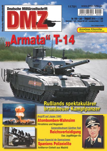 Zeitschrift DMZ 106 (Juli/August 2015)