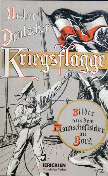Unter deutscher Kriegsflagge