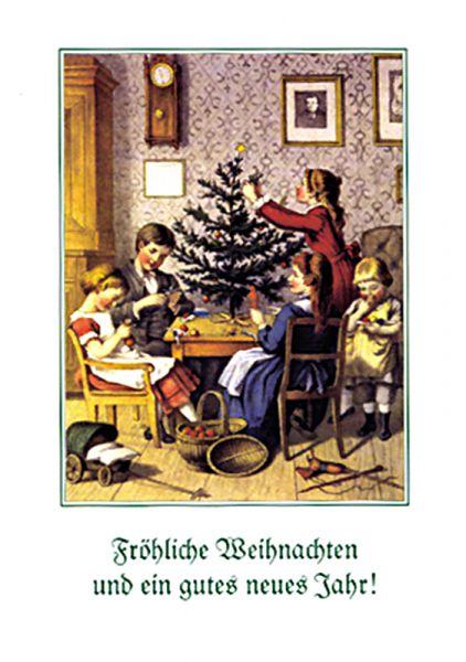 Frohe Weihnachten II, 8 Karten