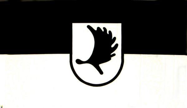 Tischfähnchen Ostpreußen (Elchschaufel)