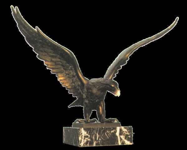 Bronzereplik Adler