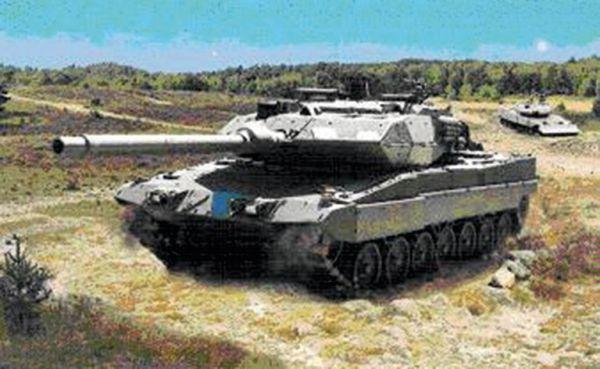 "Panzer ""Leopard II"""