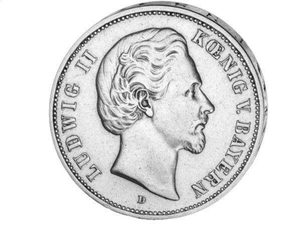 "5 Mark ""Ludwig II König von Bayern"""