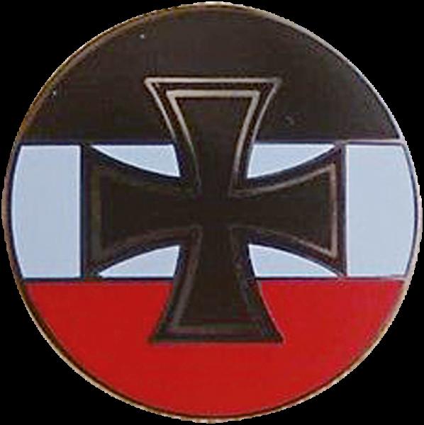 """""""Eisernes Kreuz schwarz weiß rot"""""""