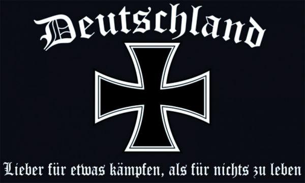 """""""Deutschland - lieber für etwas kämpfen, als für nichts zu"""