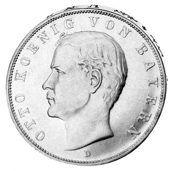 """3 Mark """"Otto König von Bayern"""""""