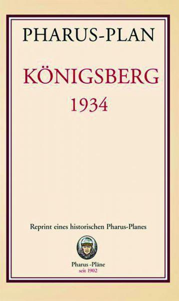 Stadtplan Königsberg 1934