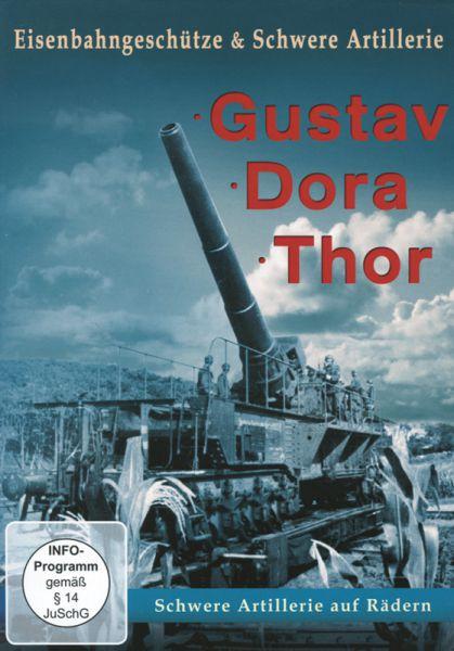 Eisenbahngeschütze und schwere Artillerie