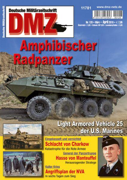 Amphibischer Radpanzer