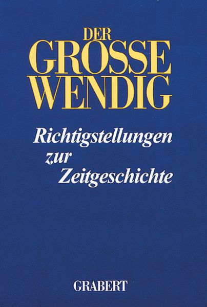 Der Große Wendig, Band 5