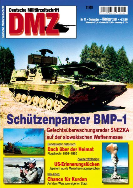 Zeitschrift: DMZ Nr. 41 (September/Oktober 2004)