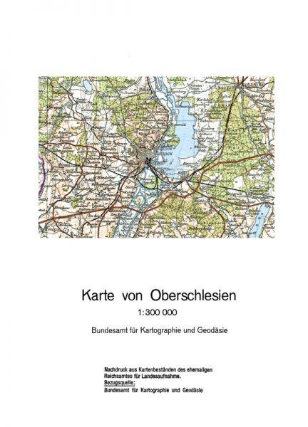 Provinzkarte Oberschlesien