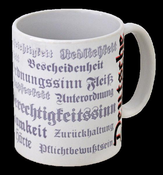 """Becher """"Deutsche Tugenden"""""""