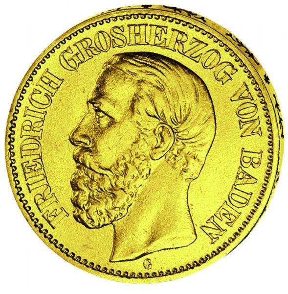 """10 Mark """"Friedrich I."""""""