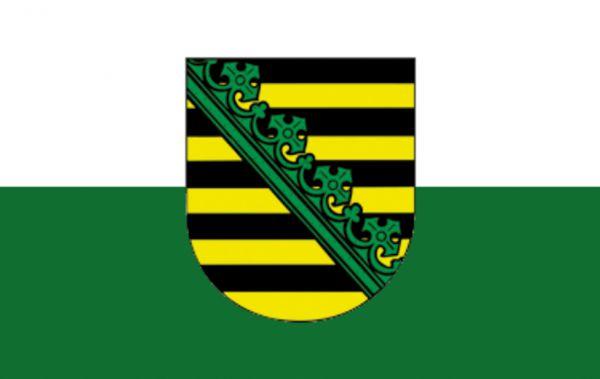 Tischfähnchen Sachsen