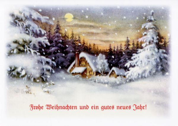 Frohe Weihnachten VI, 8 Karten