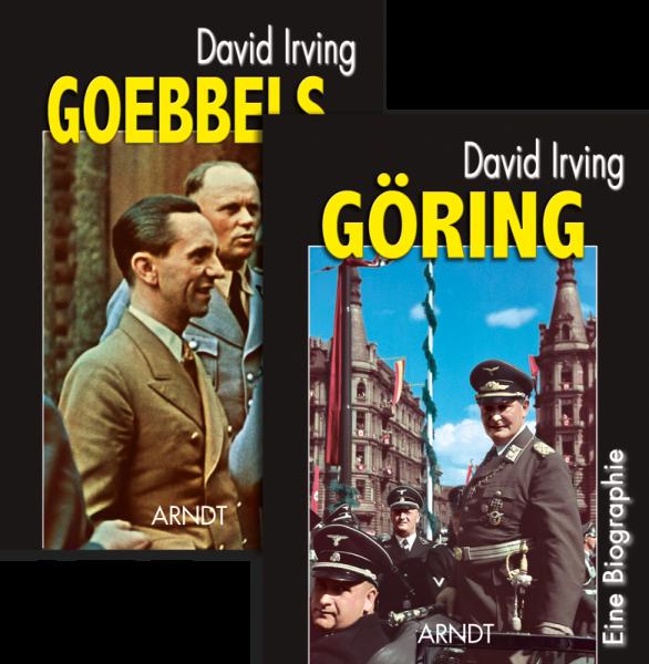 Buchpaket: Goebbels + Göring