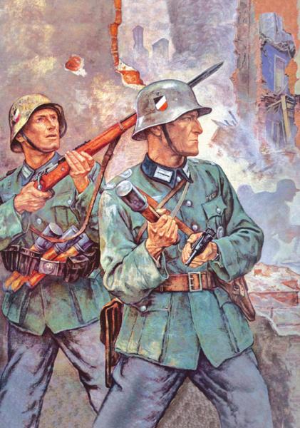 """""""Kampf in Warschau- Vorstadt"""" (1939)"""