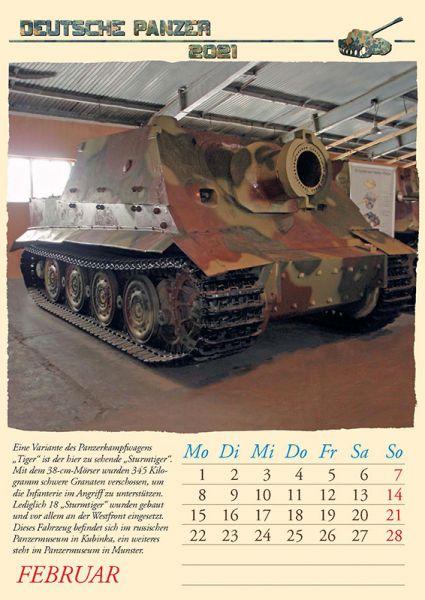 Deutsche Panzer 2021
