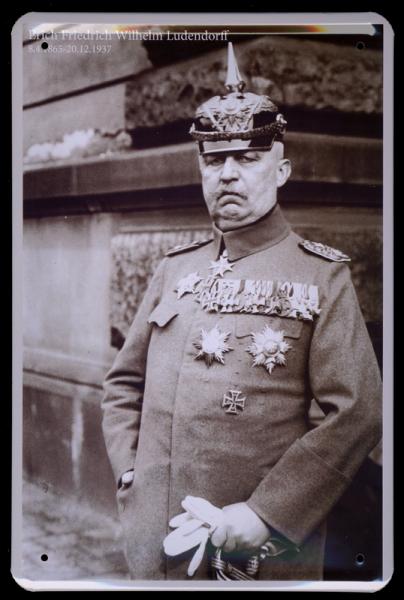 """""""Erich Friedrich Wilhelm Ludendorff"""""""