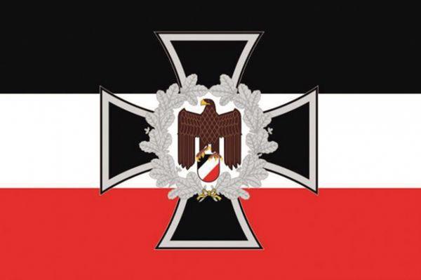 Eisernes Kreuz mit Adler, s-w-r