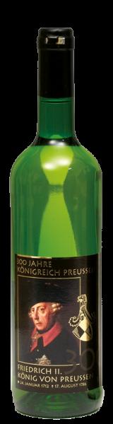 """Preußen-Wein """"Friedrich der Große""""."""