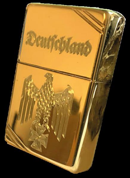 """""""Deutschland"""", vergoldet"""