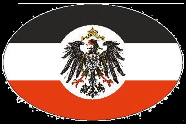 """Aufkleber """"Deutsches Reich"""""""