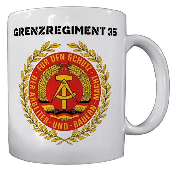 "Becher ""Grenzregiment 35 DDR"""