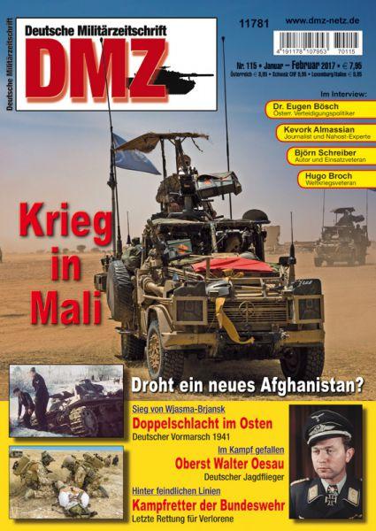 Zeitschrift DMZ 115 (Jan/Feb 2017)