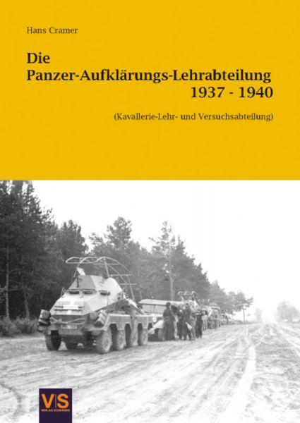 Die Panzer-Aufklärungs-Lehrabteilung 1937–1940