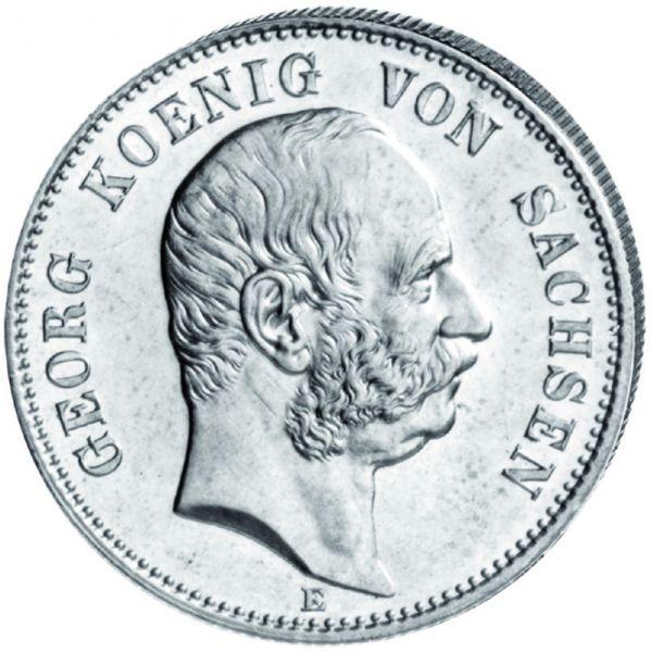 """5 Mark """"Albert König von Sachsen"""""""