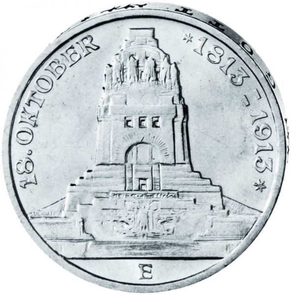 "3 Mark ""100 Jahre Völkerschlachtdenkmal"""