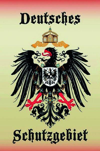"""""""Deutsches Schutzgebiet, Kaiseradler"""""""